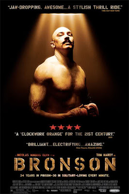 Bronson with Tom Hardy - Movie Poster