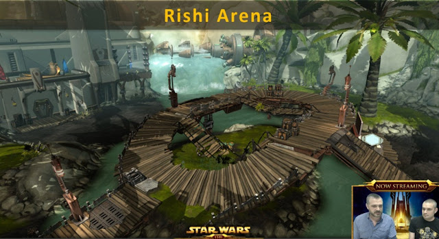 This Week In Videogames 14/02/2016 swtor rishi pvp arena