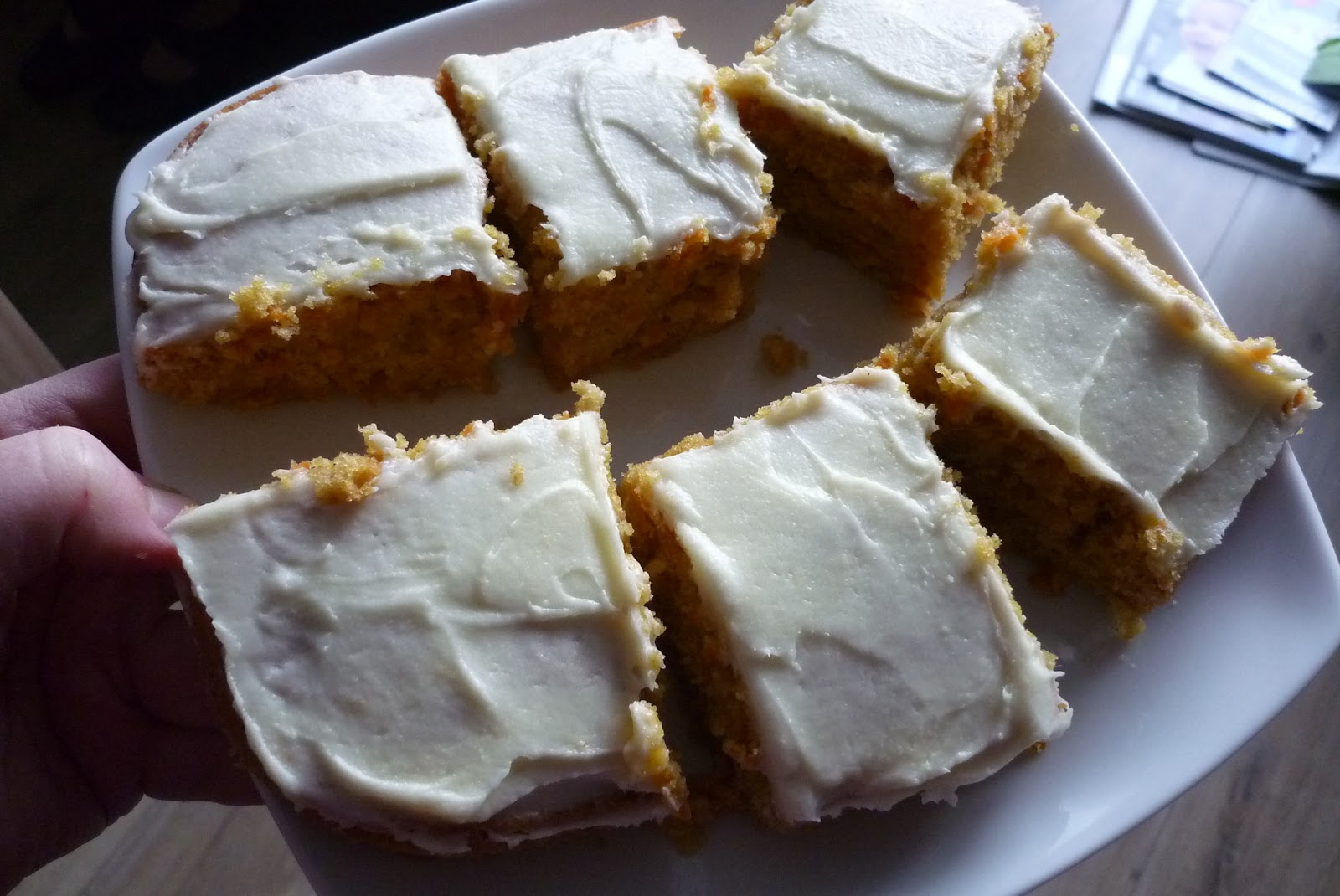 Hummingbird Bakery Carrot Ginger Cake Recipe