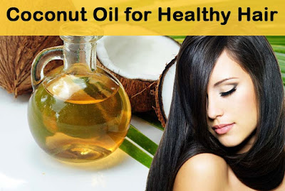 Uses of coconut oil for hair
