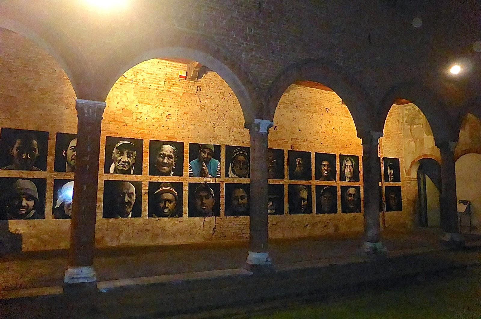 Ferrara Mostra (in)VISIBILI Casa Romei
