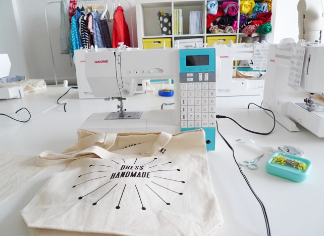 Sewing workshops at Tilly and the Buttons, London