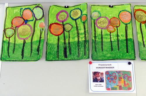 Hundertwasser - Lollipops en maternelle