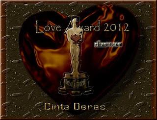 Award Termahal di Dunia dari Cinta Deras