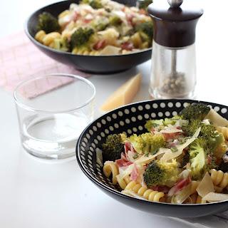 Illustration Pâte Pancetta - Brocoli & Poireau