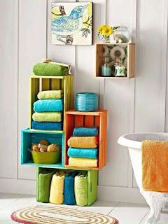 mueble de baño con cajones de madera