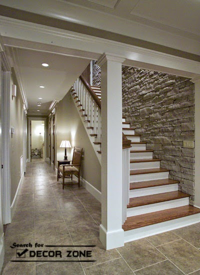 Staircase Renovation Options Stone Wall 8 Designs