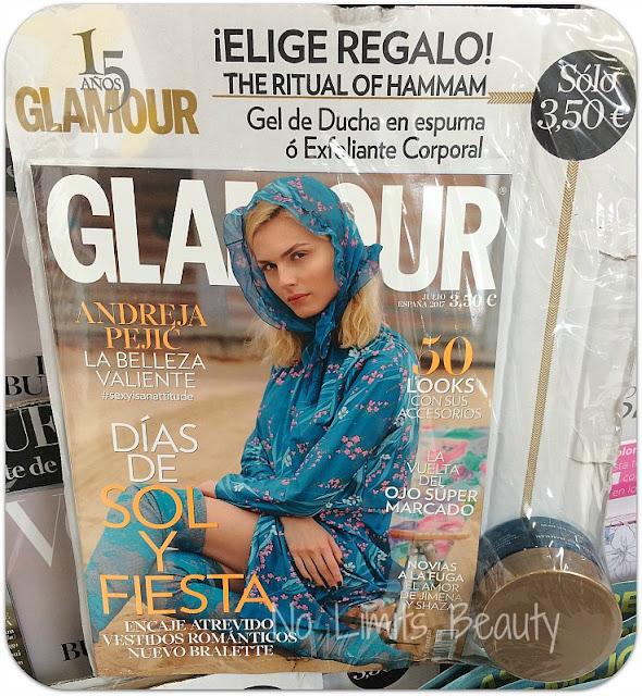 Regalos revistas julio 2017: Glamour