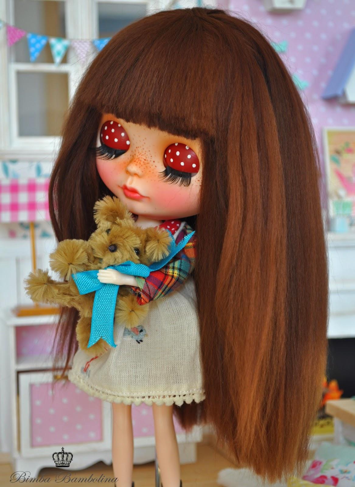 Bimba Bambolina: OOAK Custom Blythe Doll ♥ TEA