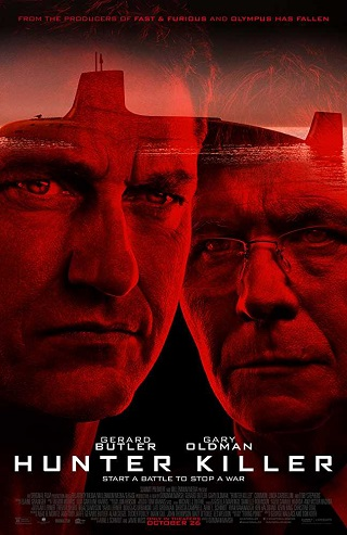 Hunter Killer 2018 English 950MB HC HDRip 720p