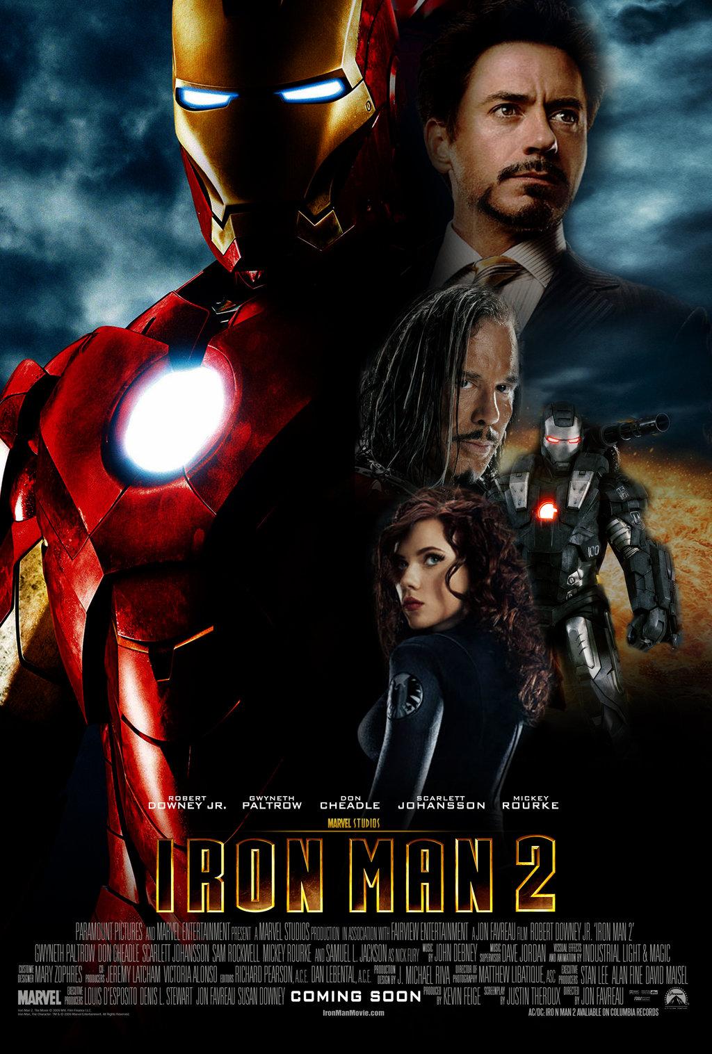 Laura S Miscellaneous Musings Tonight S Movie Iron Man 2 2010