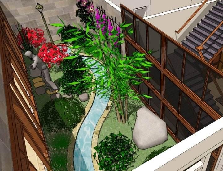 Taman Sudut Rumah Minimalis