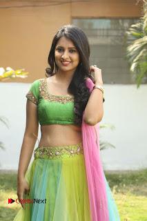 Actress Nikitha Bisht Stills in Lehenga Choli at Pochampally Ikat Art Mela Launch  0232.JPG