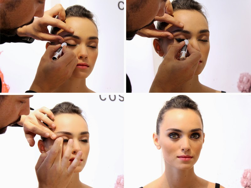 How to create an easy smoky eye