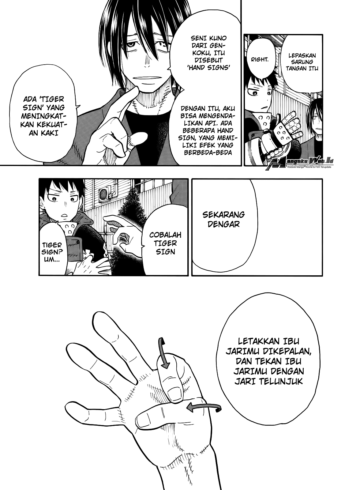 Fire Brigade of Flames Chapter 65-8