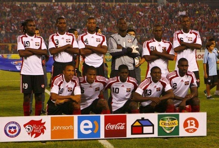 Formación de Trinidad y Tobago ante Chile, amistoso disputado el 5 de mayo de 2010