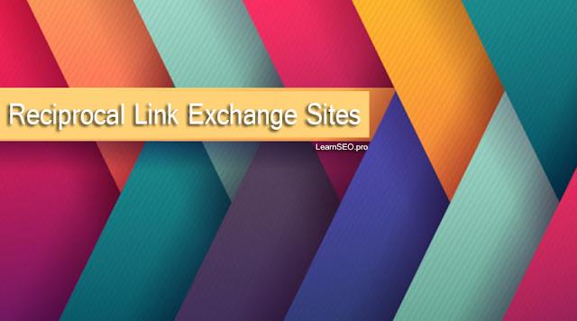 Reciprocal Link Exchange Sites