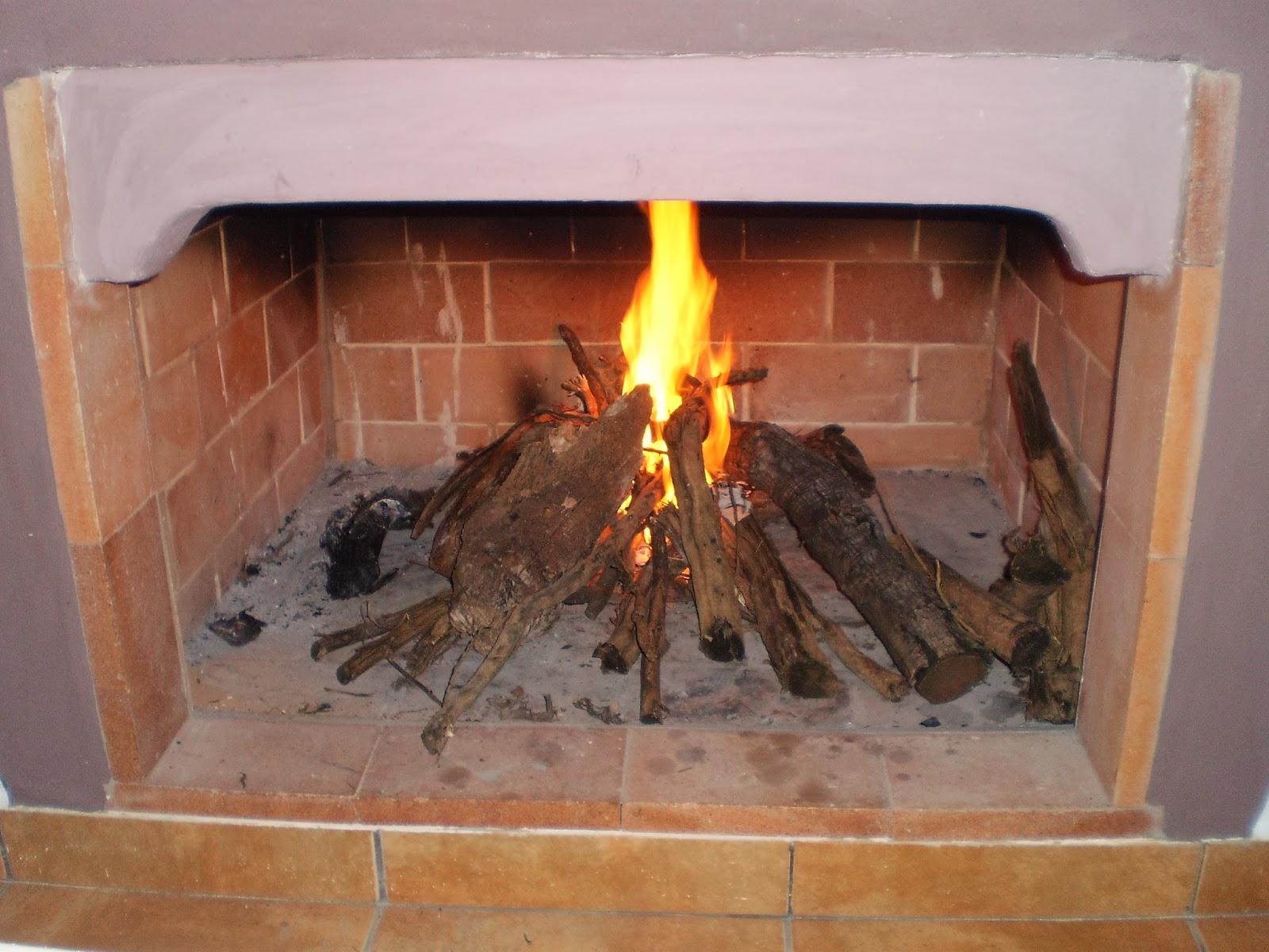 El blog de la elena un blog dulce divertido y entretenido como construir chimenea de ladrillos - Chimenea rustica de ladrillo ...