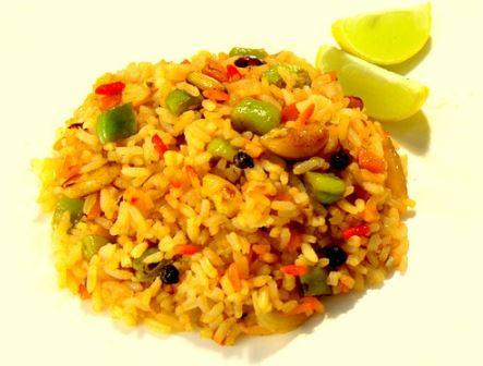 Receita de arroz da sorte para o Ano Novo