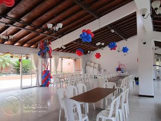 DECORACION SPIDERMAN HOMBRE ARAÑA DECORACION FIESTAS MEDELLIN 1