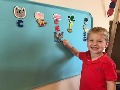 Preschool and Kindergarten word work activity