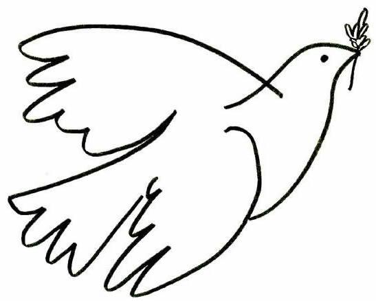 Imágenes Para Colorear Dibujos Del Día De La Paz: Rayito De Colores: Día De La Paz Para Colorear