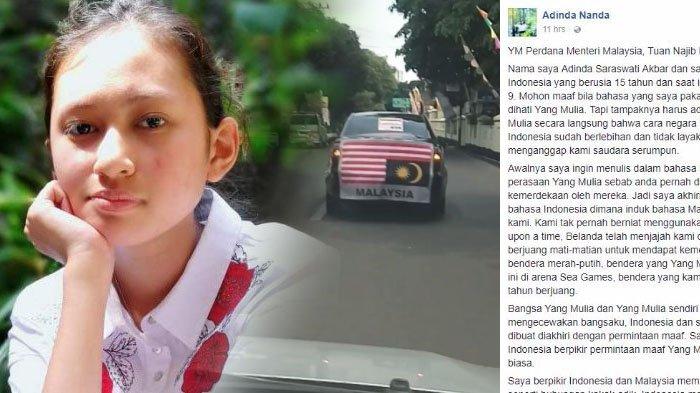 Surat Terbuka Adinda Nanda Untuk Perdana Menteri Malaysia