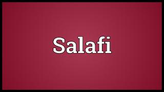 Da'i-da'i Salafi