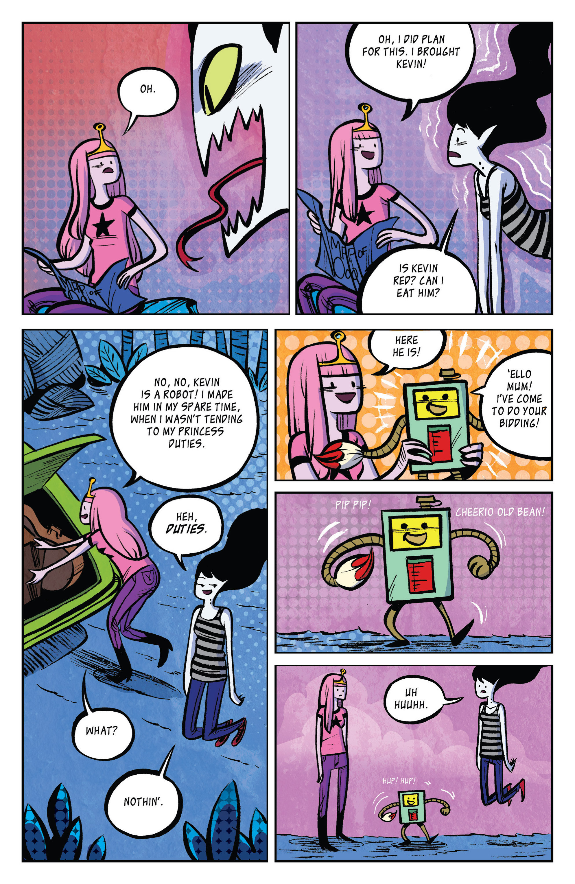Read online Adventure Time: Marceline and the Scream Queens comic -  Issue #2 - 23