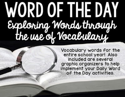 Word of the Day: Exploring Words through the Use of Vocabulary