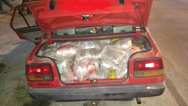 107 κιλά κάνναβης στη Νεράιδα Θεσπρωτίας