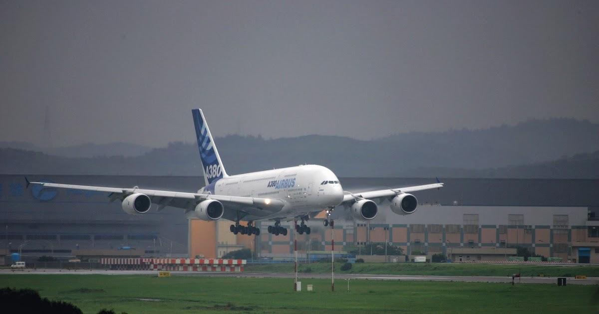 于教官的飛行教室: A380首次降落臺灣 ---- 驚鴻一瞥的空中巨無霸 (摘自兵器戰術圖解第33期)