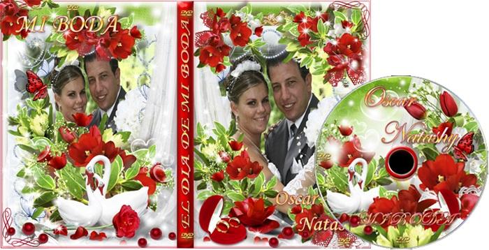 crear portadas dvd para videos de matrimonios
