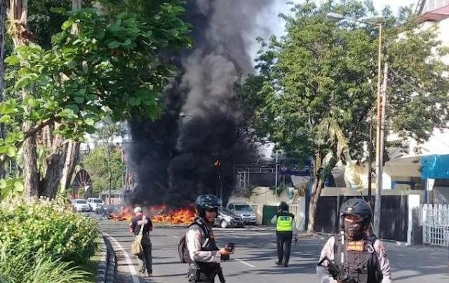3 Bom Guncang Surabaya, Aa Gym: Tak Ada Agama yang Benarkan Aksi Teror
