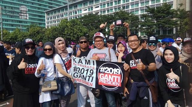 Gerakan #2019GantiPresiden Sukses Menggoyang Jokowi, Ini Buktinya