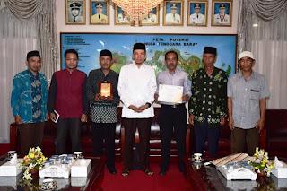 Gubernur Bertemu dengan Kepala Lendang Nangka