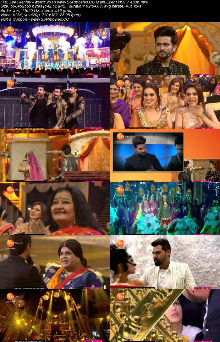 Zee Rishtey Awards 2018 Full Show Download