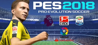 Download PES 2018 Lite Android V3 Offline PSP ISO + Save Data Terbaru 2018