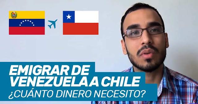 cuanto dinero necesito para emigrar a chile