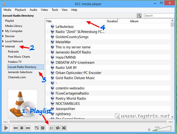 Listen & Record Online Radio With VLC | TopTrix