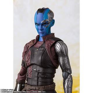"Figuras: Imágenes y detalles del S.H Figuarts de Nebula de ""Avengers: Infinity War"" - Tamashii Nations"