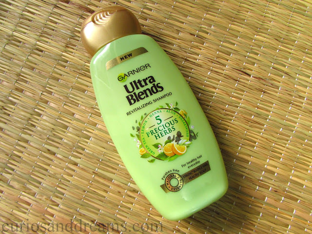 Garnier Ultra Blends Revitalizing Shampoo review
