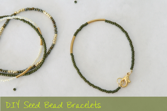 Diy Seed Bead Bracelet Tutorial