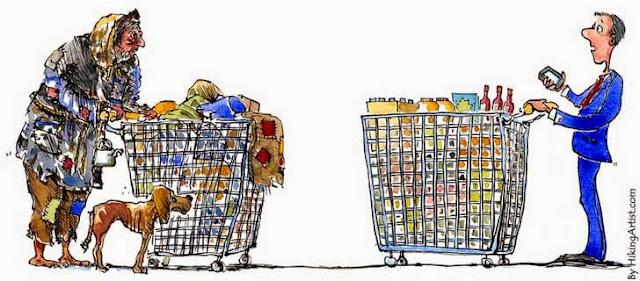 Resultado de imagen de «La economía mundial no está creando justicia social, ni acabando con la pobreza extrema ni estrechando la brecha de la desigualdad».