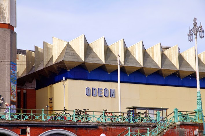 brighton geometricly roofed odeon theater