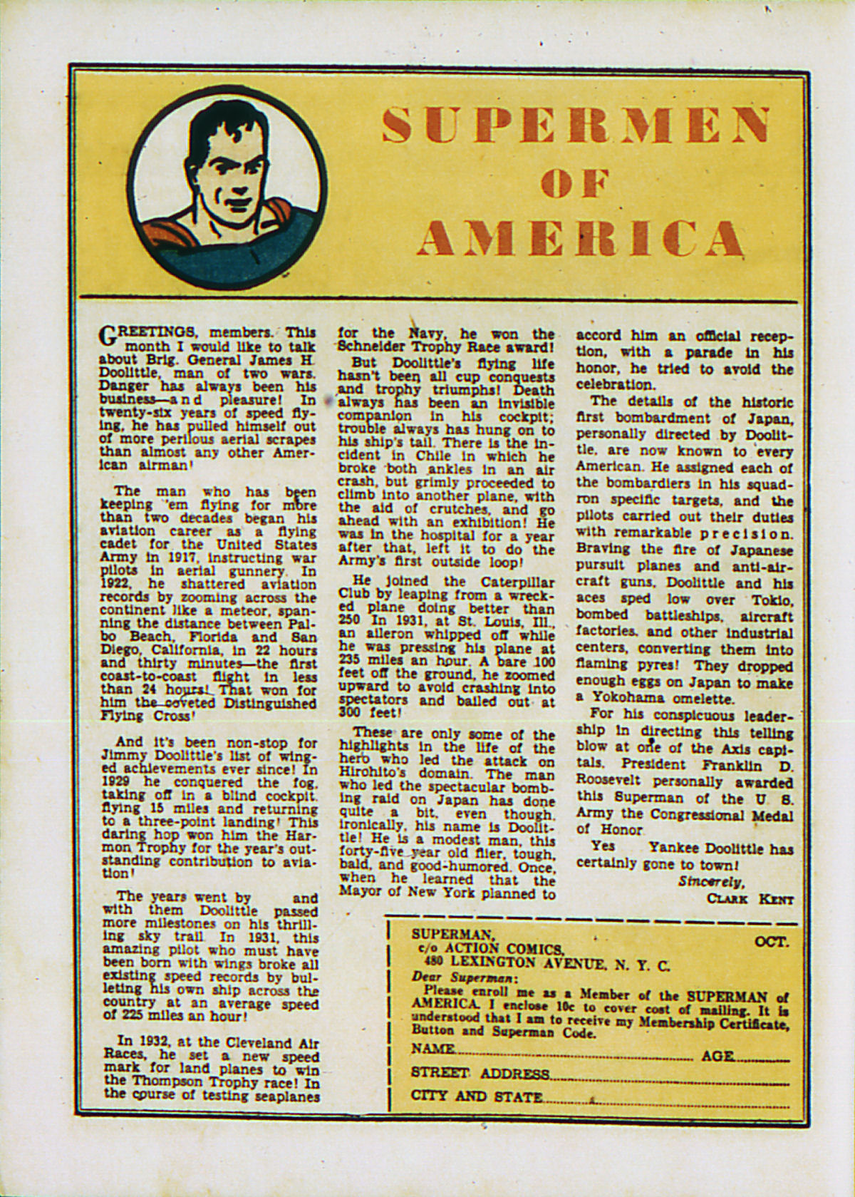 Read online Action Comics (1938) comic -  Issue #53 - 17