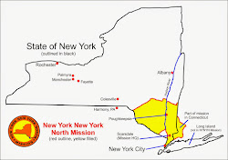 Map Of New York New York North Mission.Lds Missionary Couple In The New York New York North Mission Letter