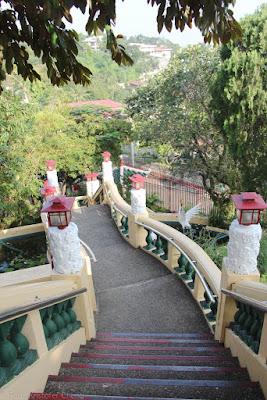 Cebu Taoist Temple Stairs