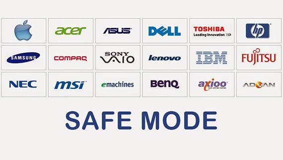 Cara Mudah Masuk Safe Mode Acer, Asus, Lenovo, Toshiba, Dell, HP