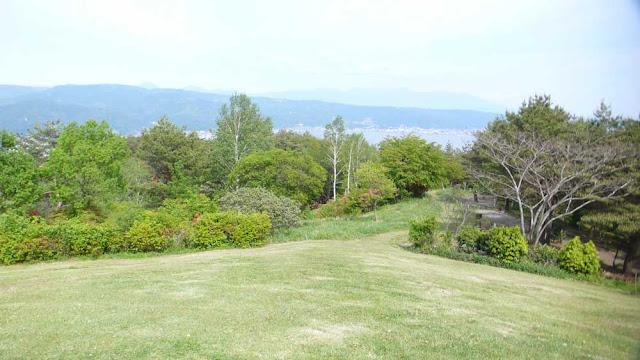yamabiko park in Okaya, Japan